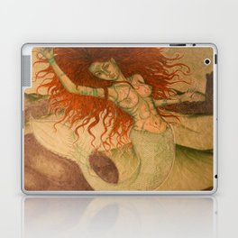Green Moss Kingdom Laptop & iPad Skin