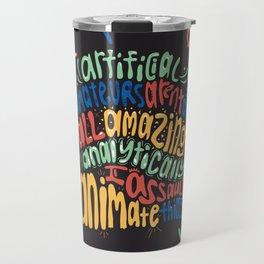 Alphabet Aerobics, Blackalicious Travel Mug