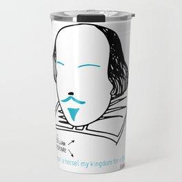 History's Men: William Shakespeare Travel Mug
