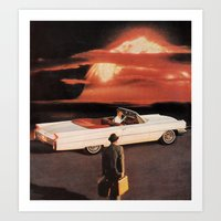 Drive It All Over Me (Holocaust Remix) Art Print