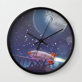 Moonshot Wall Clock