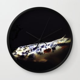 Spotted Koi Wall Clock