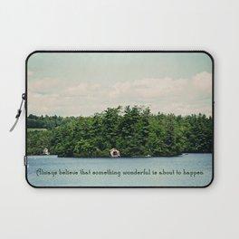 Something Wonderful Laptop Sleeve