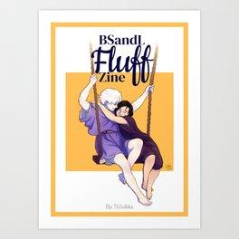 BSandL: Fluff Zine Cover Art Print