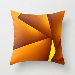 GeoSpin 2 Throw Pillow