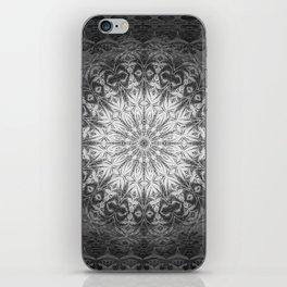 Gothic Lace Mandala iPhone Skin
