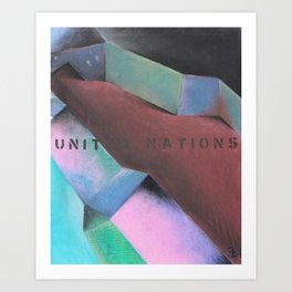 United Nations Art Print