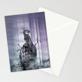 A perfect day between peacock! Stationery Cards