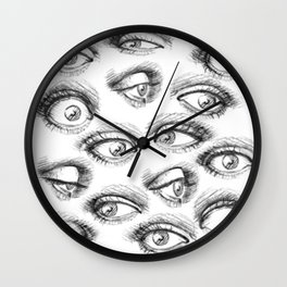 The SENSUALIST Collection (Sight) Wall Clock