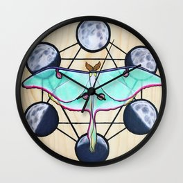 Sacred Soul Wall Clock