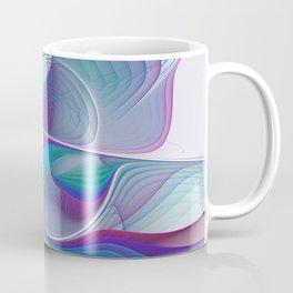 Colorful Beauty, Abstract Fractal Art Coffee Mug