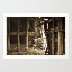 Barn Light Art Print