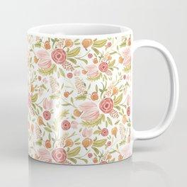 Pink Floral Medley Coffee Mug