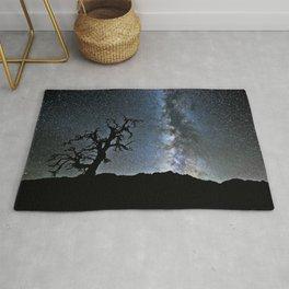 Star Tree & Milky Way Rug