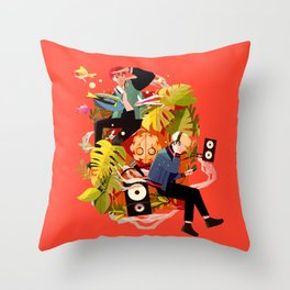 Fly away to SOPE world Throw Pillow