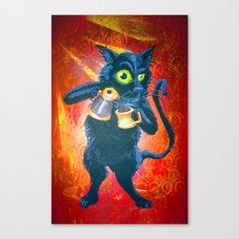 Ryan & Molly's Cat: Harry Canvas Print