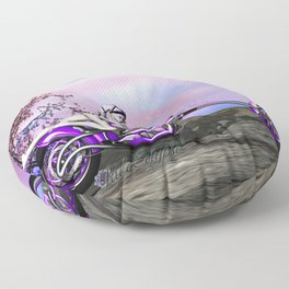 Metal And Sinew: An SWG Pinup Floor Pillow