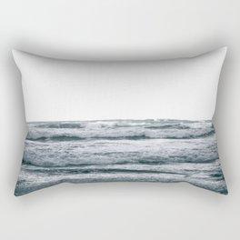 Waves V Rectangular Pillow