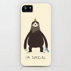 sloth(light) Slim Case iPhone (5, 5s)