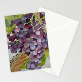 A Glass of Red wine Stationery Cards