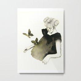 Le Farfalle Nello Stomaco Metal Print