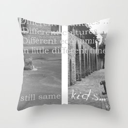 Kids... Throw Pillow