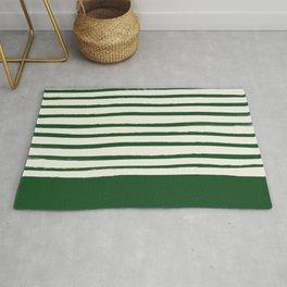 Holiday x Green Stripes Rug