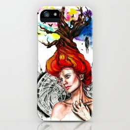 Death is timeless iPhone Case