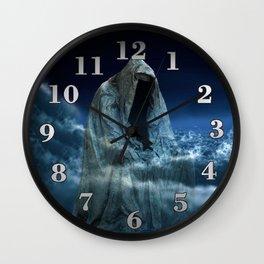 Cloak of Conscience Wall Clock