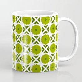 Flowers and spikes – green Coffee Mug