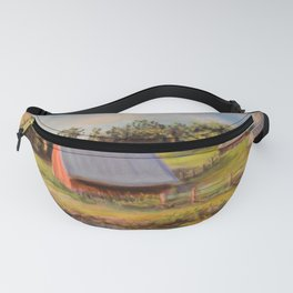 Nestled in the Farmland Fanny Pack