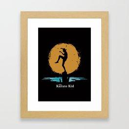The Karate Kid Framed Art Print