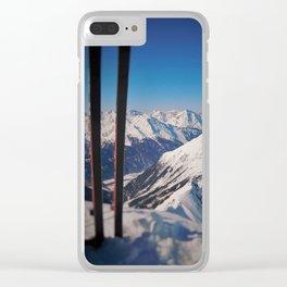 ski Clear iPhone Case