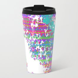 Fringe Floral Travel Mug