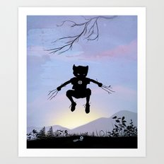 Wolverine Kid Art Print