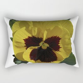 Golden Pansy Rectangular Pillow