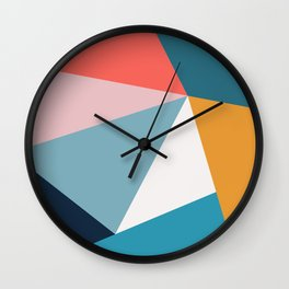 Modern Geometric 34 Wall Clock