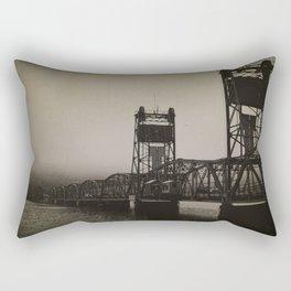 Old Border Crossing Rectangular Pillow