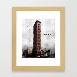 Highrise #1 Framed Art Print