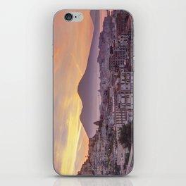 Napoli, landscape with volcano Vesuvio and sea iPhone Skin