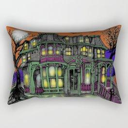 Old Victorian Queen II Rectangular Pillow