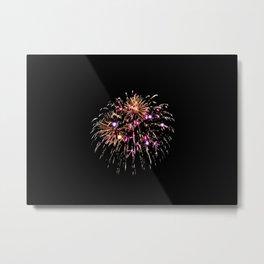 Fireworks 15 Metal Print