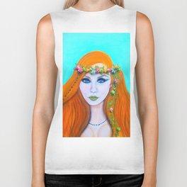 Redhead Poison Ivy Goddess Biker Tank