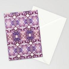 Purple Circle Stationery Cards