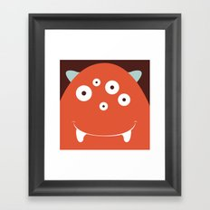 The Monster Club - Monster #11 Framed Art Print