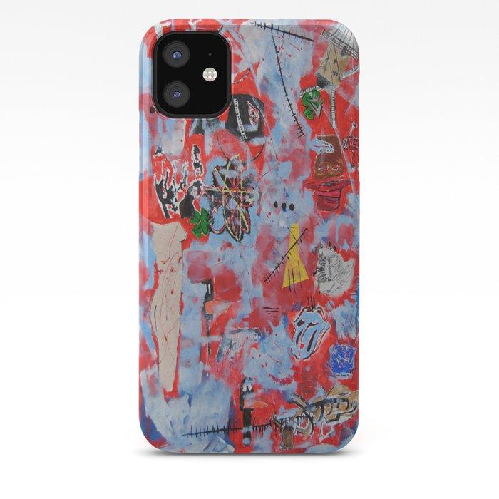 Jean Claude Basquiat Contemporary iphone case
