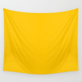 Yellow Aspen Gold Fashion Color Trends Spring Summer 2019 Wall Tapestry