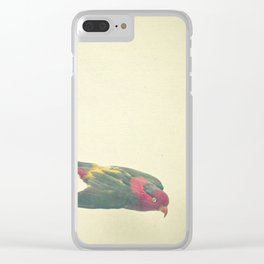 Bird Study #4 Clear iPhone Case
