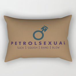 PETROLSEXUAL v4 HQvector Rectangular Pillow