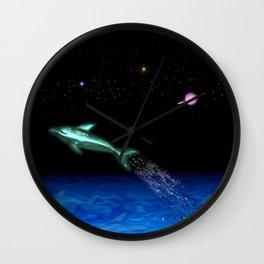 Astral Sea Wall Clock